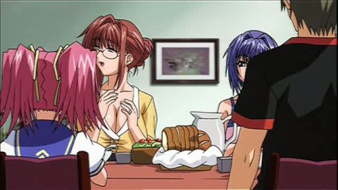 Orgie sauvage dans un manga